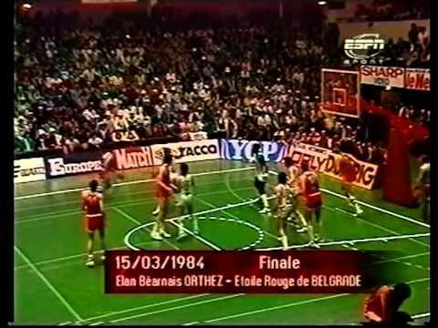 1984.Korac.Cup.Final.Orthez.vs.Crvena.Zvezda.avi