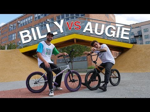 Street BMX Game of BIKE: Billy Perry Vs Austin Augie (NYC)