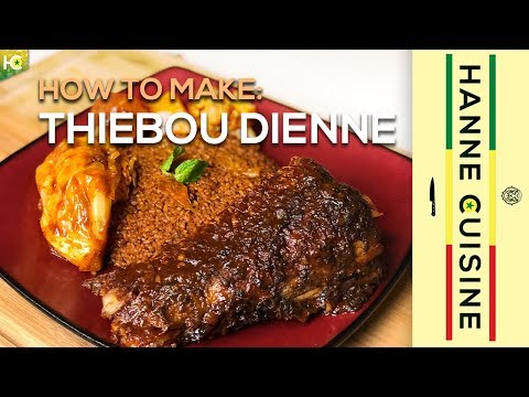How To Make Thiebou Dienne - West Africas Best Dish - Easy to follow Tutorial - Senegalese Food