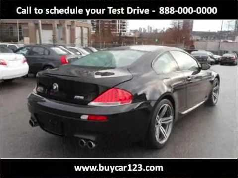 2006 Bmw M6 Used Cars Vancouver Bc Youtube