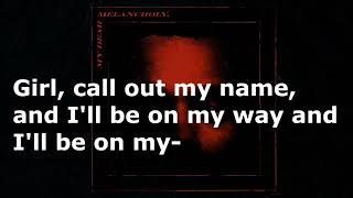 The weeknd - call out my name ( lyrics ...