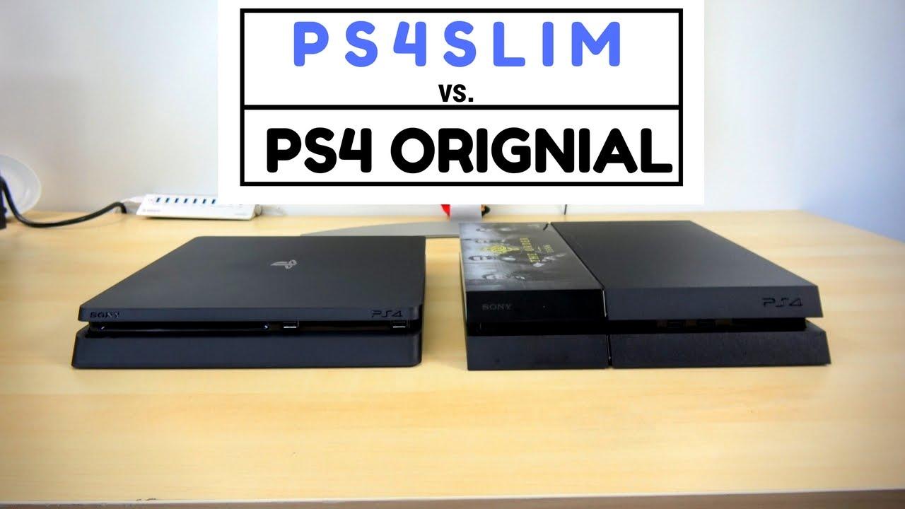ps4 slim vs ps4 original battle vid youtube. Black Bedroom Furniture Sets. Home Design Ideas
