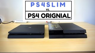 PS4 Slim vs PS4 Original: Battle Vid