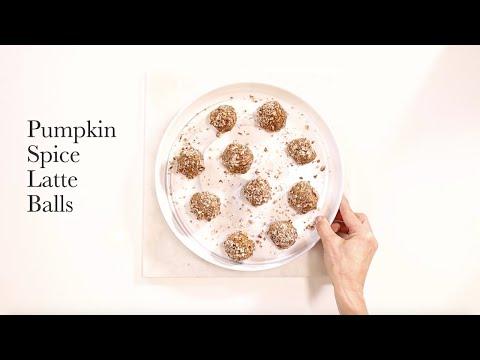 Pumpkin Spice Latte Protein Balls Recipe