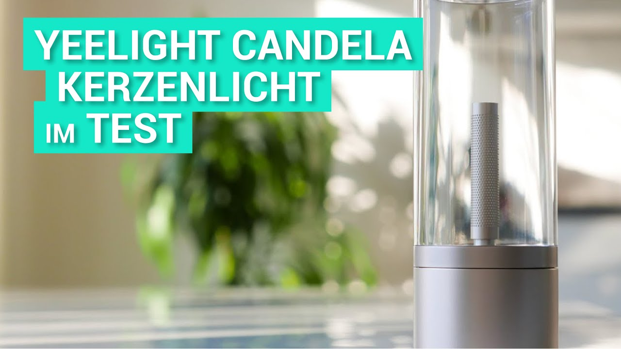 video Yeelight Candela smartes Kerzenlicht