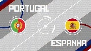 Chamada de Portugal x Espanha pela Copa da Rússia na Globo (15/06/2018)
