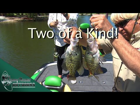 Crappie Fishing Fun with Paula Deen - Jimmy Houston Outdoors