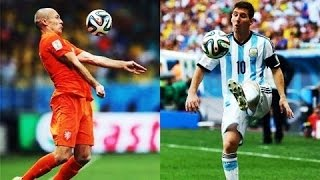 [WORLD CUP 2014] Messi vs Robben - WHO IS BEST PLAYER?◄GOALS | SKILLS | DRIBBING►