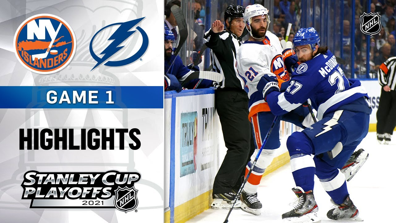 The Lightning fall to Islanders in Game 1 of Stanley Cup Semifinals