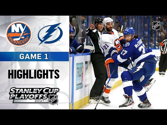 Semifinals, Gm 1: Islanders @ Lightning 6/13/21 | NHL Highlights