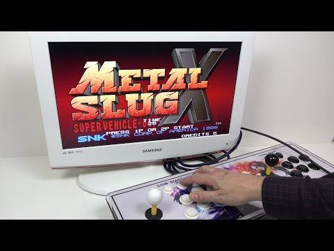 The plug & play 800+ game Retro Arcade Stick   Pandoras Box 4S REVIEW