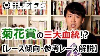 【2017菊花賞】菊花賞の三大重要血統!?(レース傾向・参考レース解説)