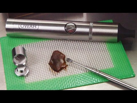 Atman Owar Wax Vaporizer Pen Unboxing Usage and Review: Blazin' Gear Reviews