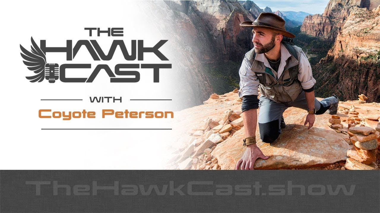 Download Coyote Peterson: Brave Wilderness and Getting Bit for a Living - The HawkCast