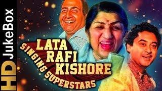 Lata Rafi Kishore - Singing Superstars | Classic Bollywood Evergreen Songs | Old Hindi Songs