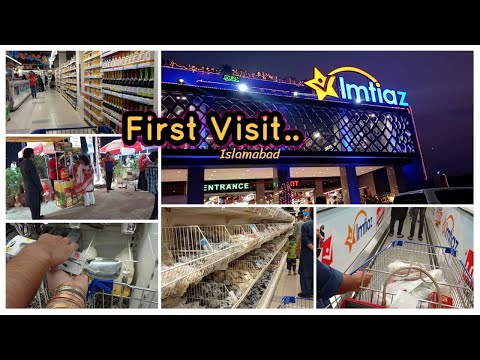 Visit to Imtiaz Super Market Islamabad | First Experience | Review