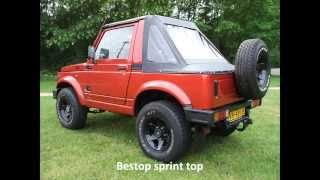 Suzuki Samurai built for speed (dual Weber carbs)