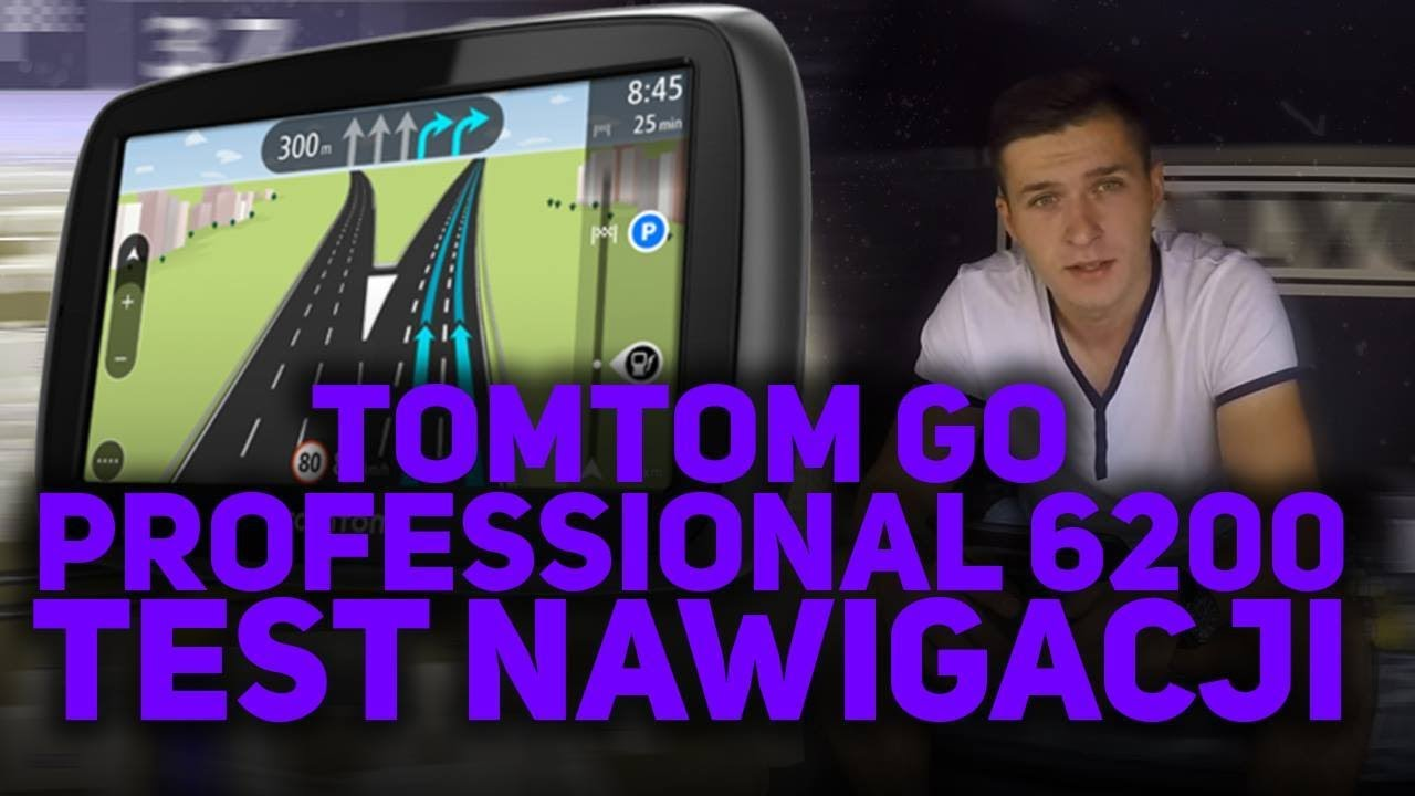 test nawigacji tomtom go professional 6200 youtube. Black Bedroom Furniture Sets. Home Design Ideas
