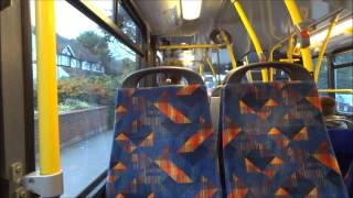 Journey on The 405 (951 YN07EXM) Scania N230UD/Omnidekka Go Ahead London Metrobus