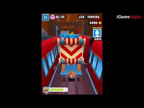 Subway Surfers Copenhagen iPad Gameplay HD #15