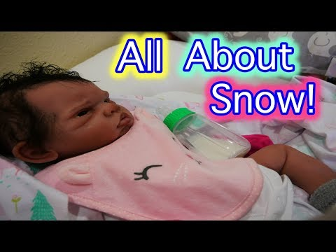 """Silicone Baby Snow """"All About My Baby"""" Tag for Silicone Baby Dolls, Reborn Baby & Baby Dolls!"""