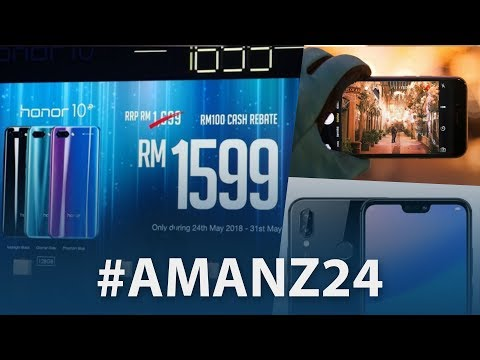 #Amanz24 - Internet Laju Dan Murah, Honor 10 Malaysia, Instagram Mute