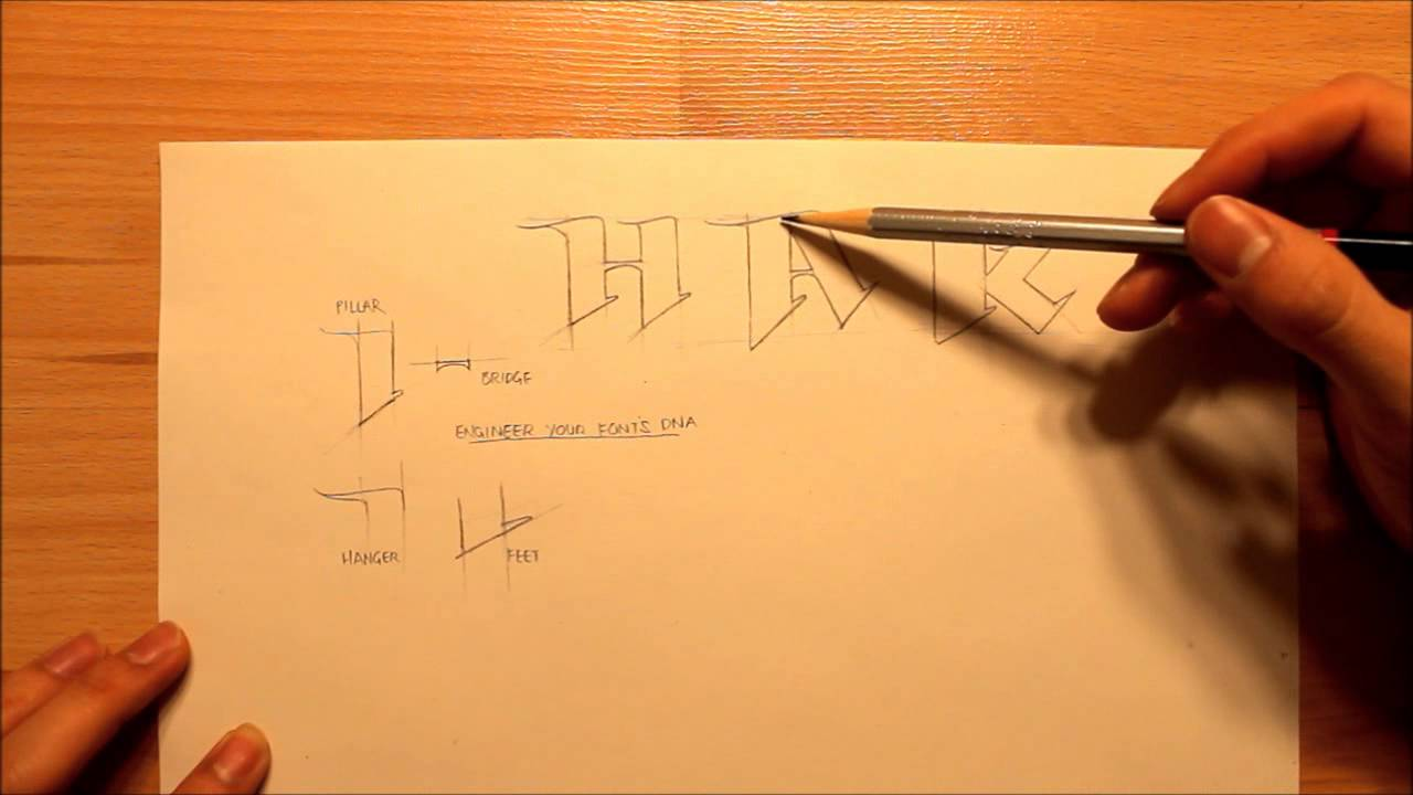 How To Draw Your Own Font Create Your Own Font Graphics Graffiti And Illustration Youtube