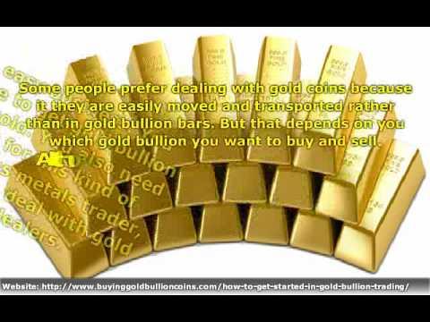 Physical Gold Bullion Trading