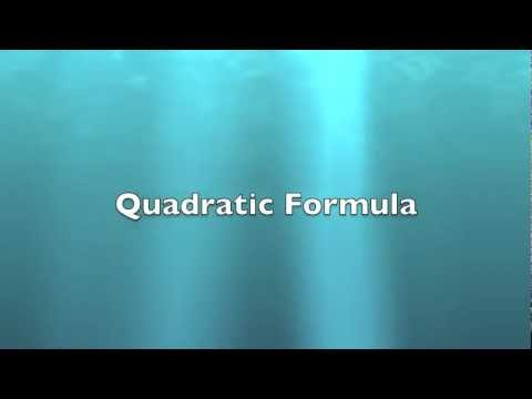 Quadratic Formula Song- Bad Romance by Lady Gaga