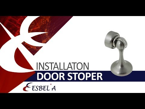 installation door stop magnetic Esbela