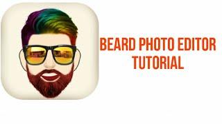 Beard photo editor, Edit beard with this awesome app Tutorial screenshot 1