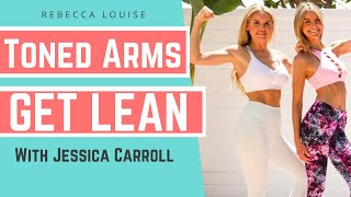 ARM CHALLENGE workout to shrink BINGO WINGS | Rebecca Louise