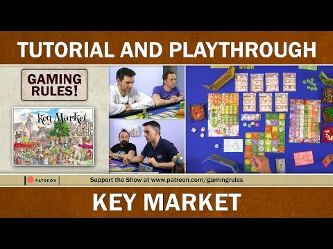 Key Market - Tutorial and Playthrough video from Gaming Rules! thumbnail