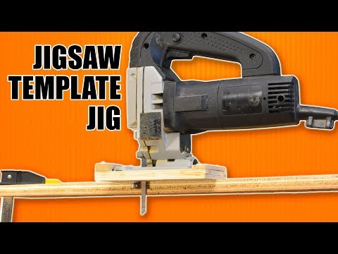 Jigsaw Template Jig: Make Duplicate & Repeatable Cuts with a Jigsaw.