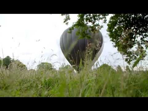 The world's first solar hot air balloon test inflation