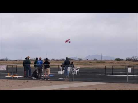 AIAA Design-Build-Fly 2019 Fly-Off Tucson Arizona - Crash Compilation (by UNSW Sydney)
