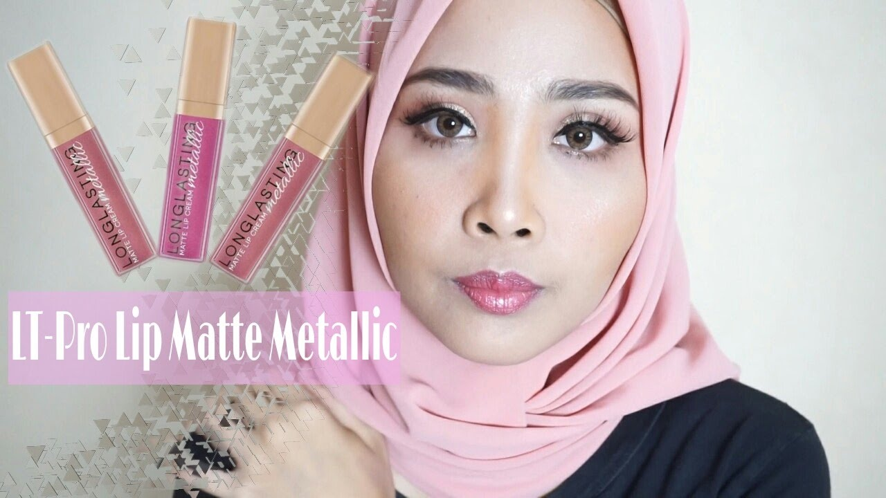 Review Swatch Lt Pro Matte Lip Cream Metallic Youtube L T Long Lasting