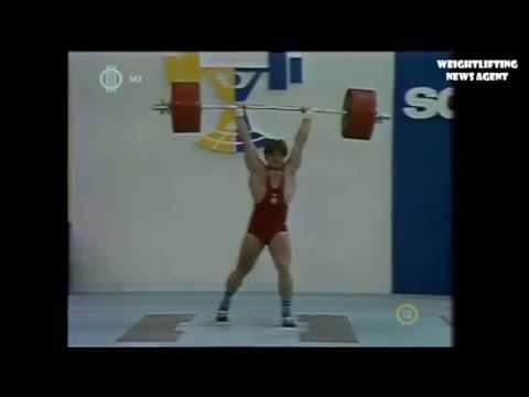 Szanyi Andor  World Weightlifting Championships  1985  100kg