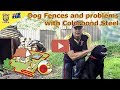 Electric Dog Fences - Problems With COLORBOND Steel