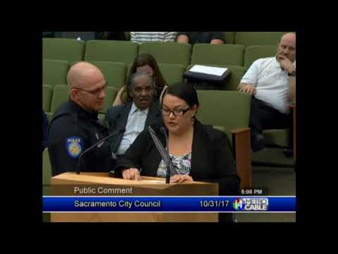 Indigenous Peoples' Day public comments at Sacramento City Council