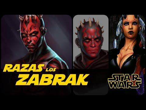 Star Wars La Raza De Darth Maul (Los Zabrak)
