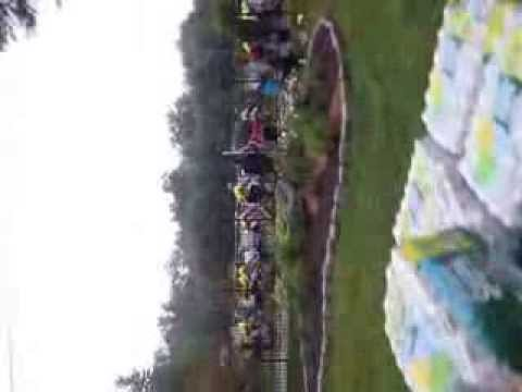 BIKE 4 CHAI 2013 ARRIVING AT CAMP SIMCHA CHAI LIFELINE