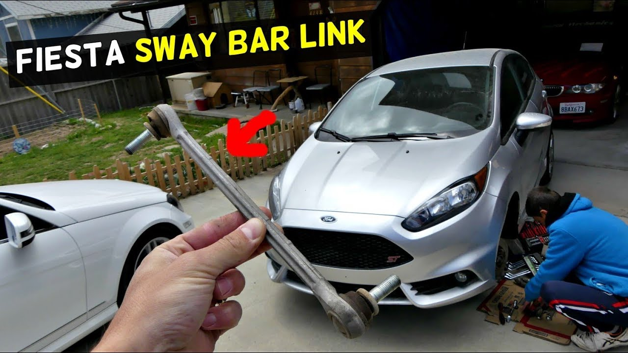 Ford Fiesta Sway Bar Link Replacement Ermoval Mk7 St Youtube