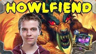 Thijs tries Treachery Howlfiend warlock deck (Rastakhan