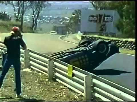 Bathurst 1982 - Kevin Bartlett Roll Over - footage _ interviews _ analysis after roll over