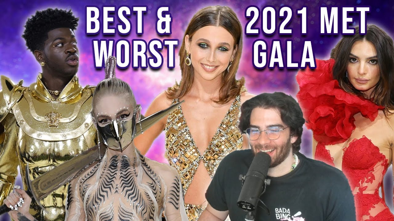 HasanAbi reacts to Best and Worst Dressed Met Gala 2021