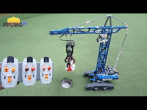 download video lego technic 42042 b model rc motorized. Black Bedroom Furniture Sets. Home Design Ideas