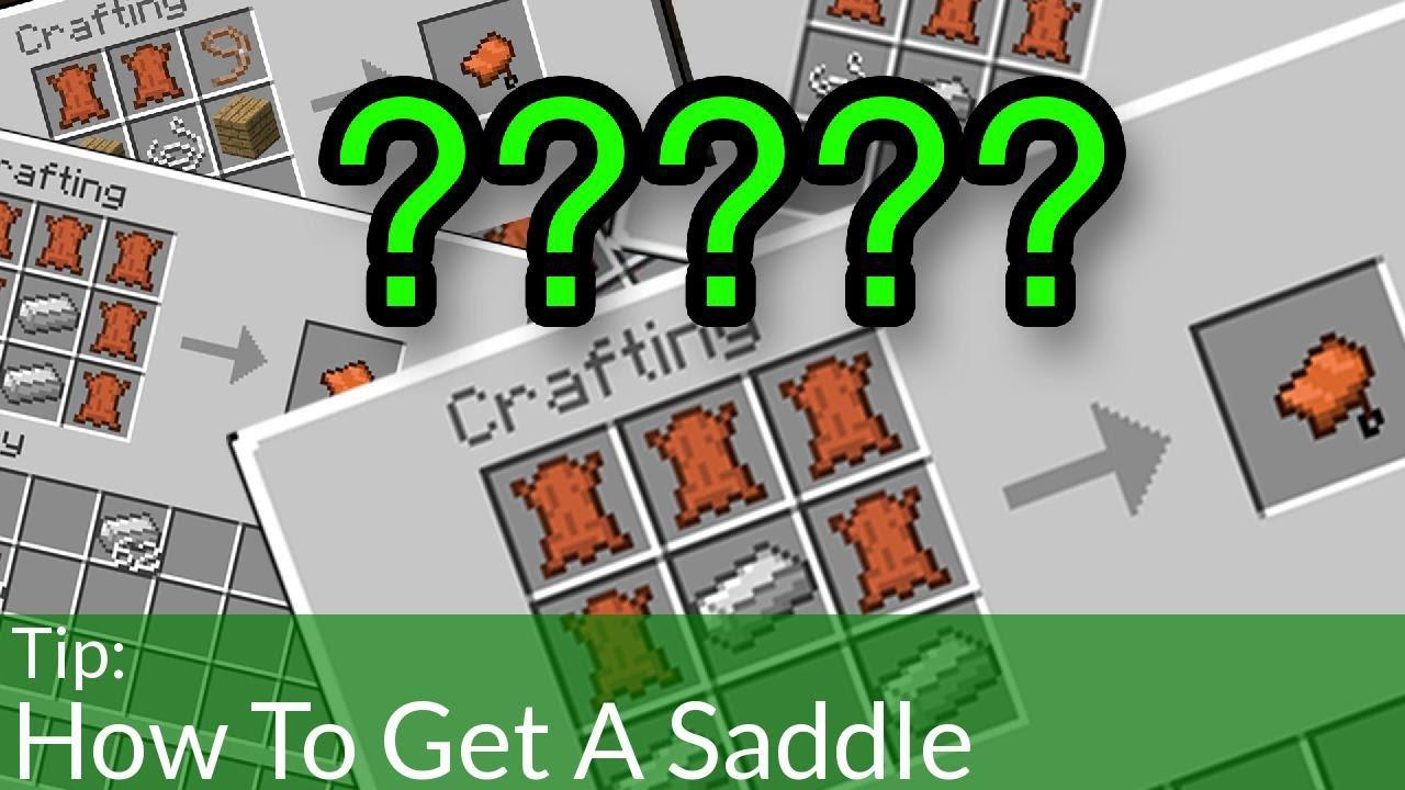 Saddle Minecraft