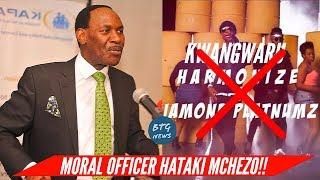 WHY KFCB BOSS EZEKIEL MUTUA BANNED 'KWANGWARU BY DIAMOND IN KENYA!? |BTG News