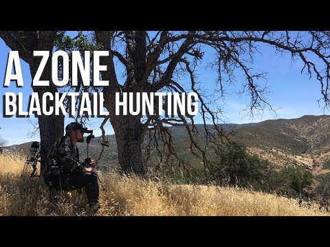 A Zone - Blacktail Deer Hunting